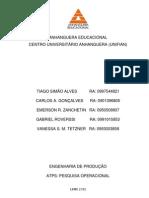 ATPS-PEQUISA OPERACIONAL