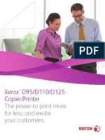 Xerox® D95/D110/D125 Copier/Printer