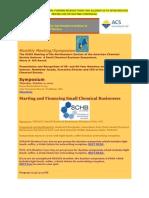 Updated Small Chem Biz Symposium Info