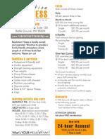 ResFit Rack Card Web 10/12
