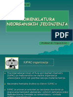 IV Nomenklatura Neorganskih Jedinjenja