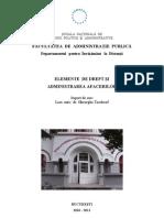 Elemente de Drept Si Administrarea Afacerilor, AN II, FAP, SNSPA
