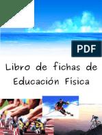 Libro de fichas de educación física