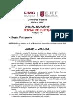 Ejef 2007 Tj Mg Analista Judiciario Oficial de Justica Prova