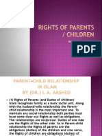 Rights of Parents-Children