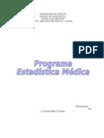 1- Prog. de Estad