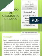 Seminário de Geografia Urbana