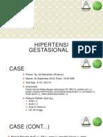 Hipertensi Gestasional - Presentasi Kasus