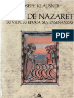 Klausner Joseph Jesus de Nazaret