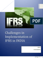 Comparison of Ind as and IFRS