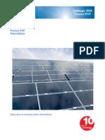 Tarifas Sistema Fotovoltaico