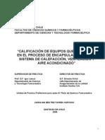 Calificacion de Equipos Que Participan en El Proceso de Encapsulacion y en El Sistema de Calefaccion , Ventilacion y Aire Acondicionado