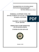 Senate Report DHS Fusion Centers Suck Oct12