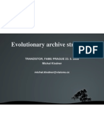 Evolutionary Archive Structures