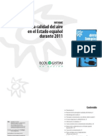 Informe Calidad Aire 2011