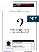 Smoke Alarm Warning - The Home Depot