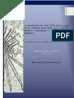 LA INVASIÓN DEL PEZ LEÓN (Pterois spp) EN EL PARQUE NACIONAL ISLA CONTOY, MÉXICO