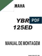 YBR125ED Manual Montagem