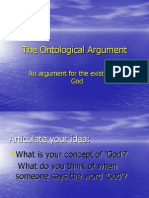 Ontological Argument- Philosophy