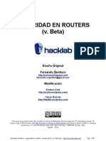 Seguridad en Routers