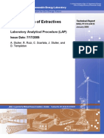 42619-Determination of Extractives in Biomass