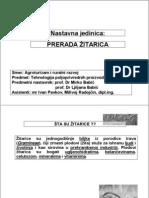 Prerada zitarica