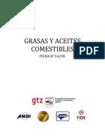 14-Grasas y Aceites Comestibles