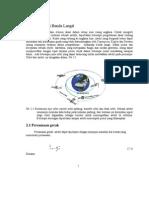 1. Bentuk Orbit Dan Gerak Benda Langit Dalam Orbit