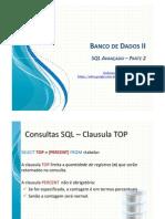 04 - SQL Avancado - Parte 2