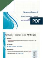 09 - Stored Procedures - Parte 02