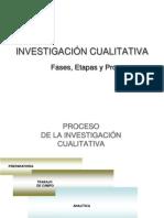 Fases, Etapas y Procesos de La Investigacion Cualitativa