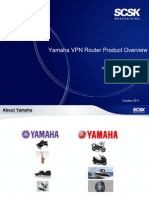 Yamaha Product Overview