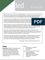 UCI MURP Summer Newsletter 2012