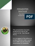 Fermented Biochar