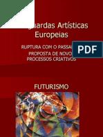 Vanguardas Artísticas Europeias - 3º ano
