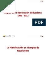 Logros de la Revolución Bolivariana 1999 2012