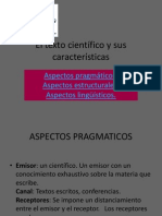 El Texto Cientifico y Sus Caracterisitcas Ixi
