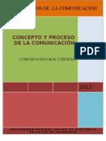 Concepto y Proceso de La Comunicacion