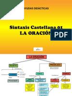 SINTAXIS 1 ORACIÓN