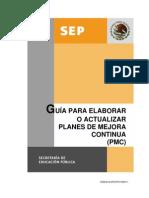 Guia Elaborar Actualizar PMC Junio2011