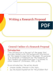 20120922030945Wrting a Research Proposal