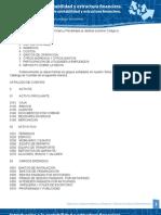 1.8.2 Clasificación y elaboración del catálogo de cuentas.