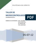 Pozos Petroleros Microcontroladores
