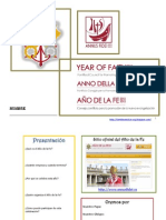 Cuaderno Presentación Año Fe - jóvenes 15 años