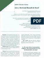 Las Religiones a Juicio y Bertrand Russell de Fiscal