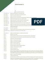 Microsoft Excel 2010 Keyboard Shortcuts