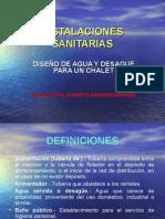 Diseno de Agua y Desague Para Un Chalet - Sesion 1
