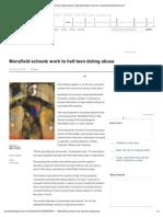 Mansfield Schools Work to Halt Teen Dating Abuse _ Mansfield News Journal _ Mansfieldnewsjournal