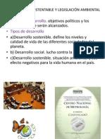 DESARROLLO SUSTENTABLE Y LEGISLACIÓN AMBIENTAL (1)