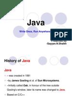 Java seminar